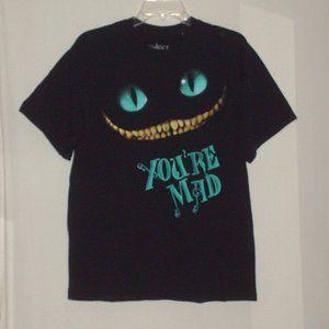 Disney's Alice In wonderland Mad T-shirt - large